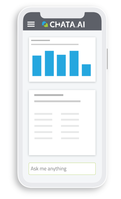 Data chat on mobile