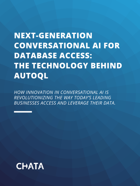 AutoQL Technology White Paper Cover Page