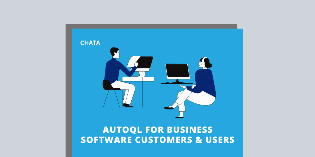 Conversational AI Resources: AutoQL for business software customers and users fact sheet cover