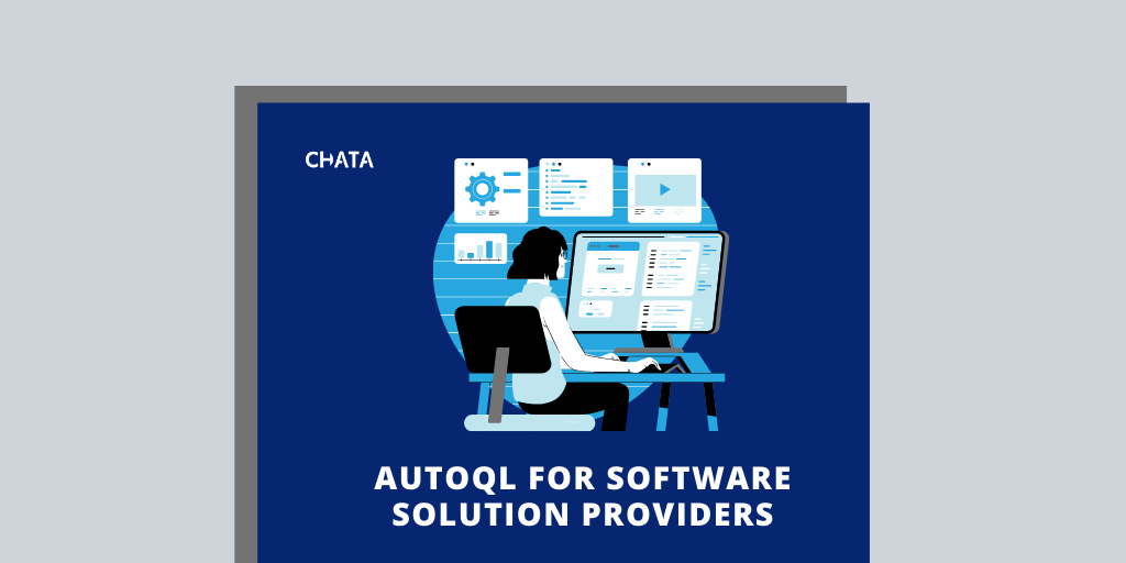 AutoQL for software solution providers fact sheet cover