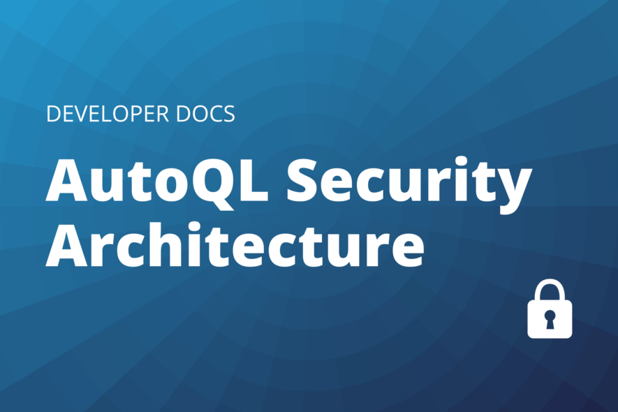 AutoQL security architecture cover