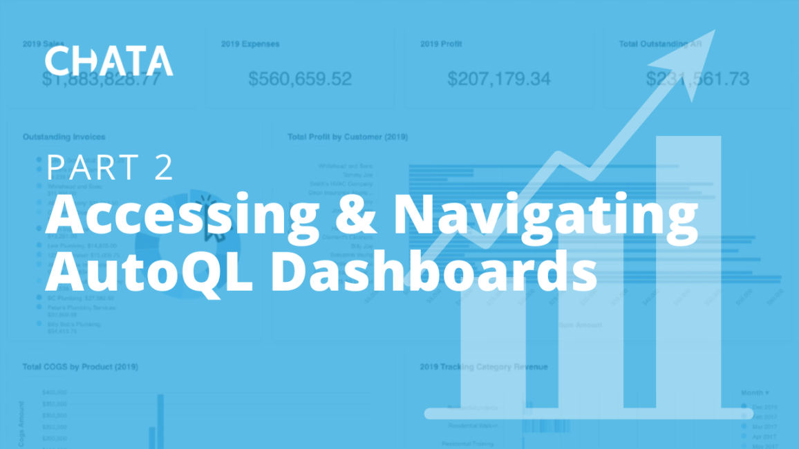 Accessing and Navigating AutoQL Dashboards