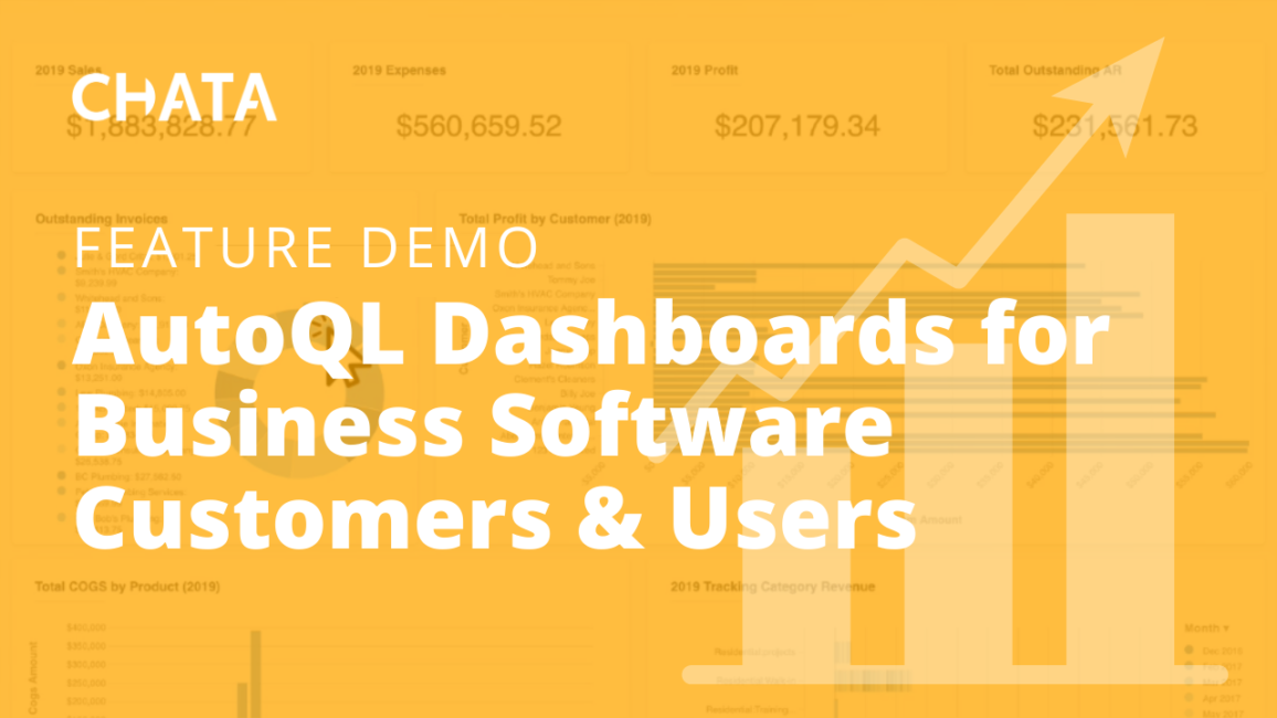 AutoQL Dashboards for Business Software Customers & Users
