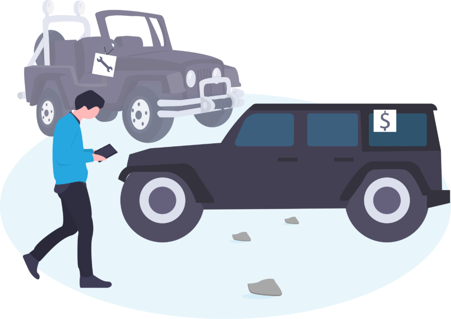 Automotive lot using AutoQL with their software solution