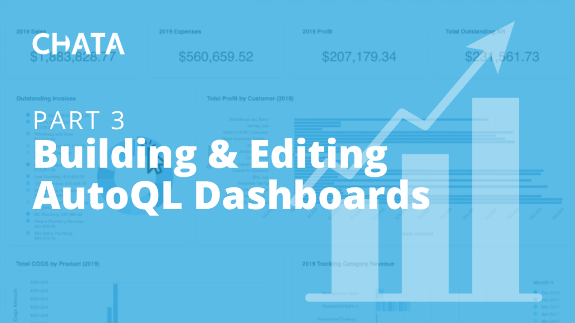 Building and Editing AutoQL Dashboards