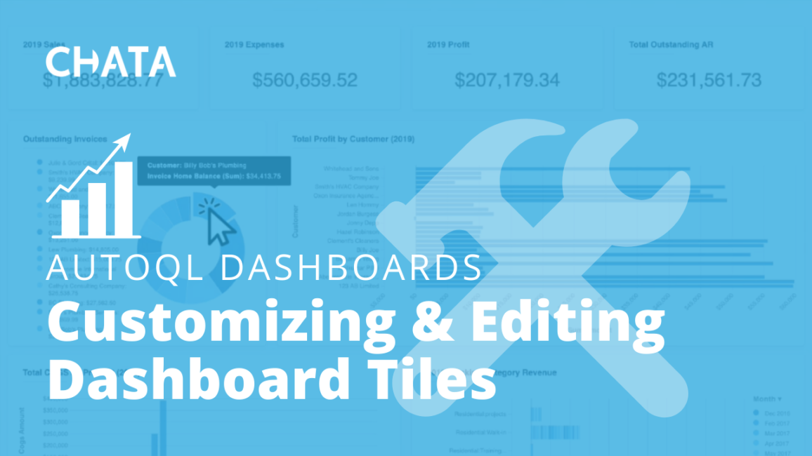 Customizing and Editing Dashboard Tiles AutoQL Dashboards