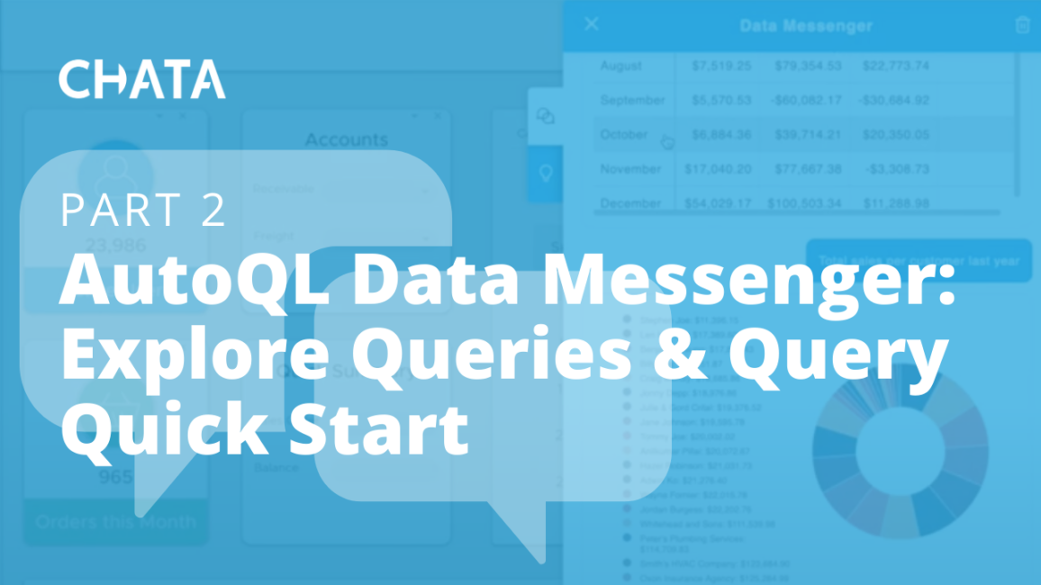 Data Messenger Explore Queries and Query Quick Start