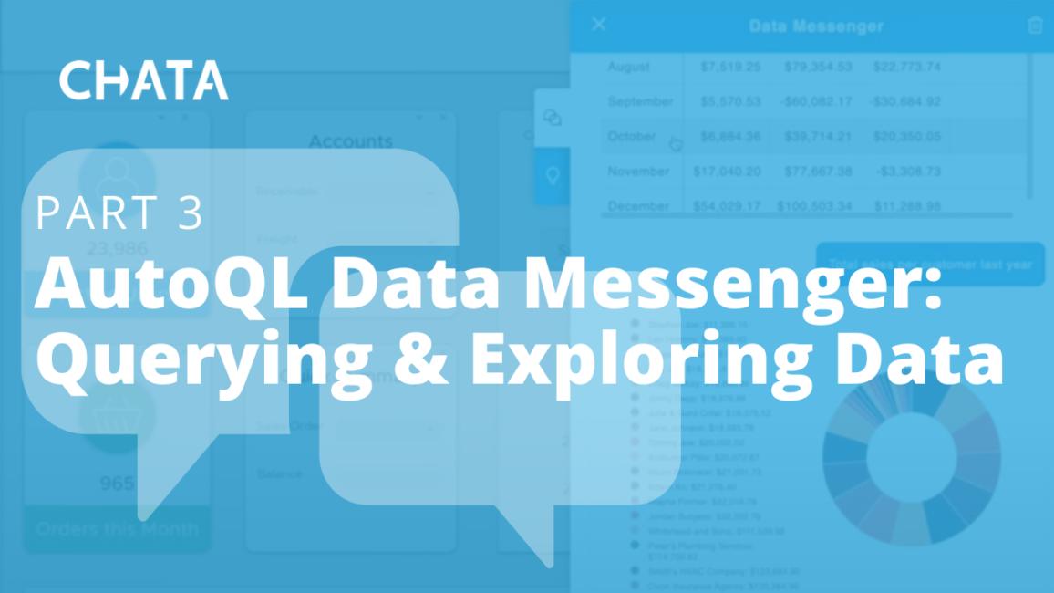 Conversational AI Resources: Data Messenger Querying & Exploring Data
