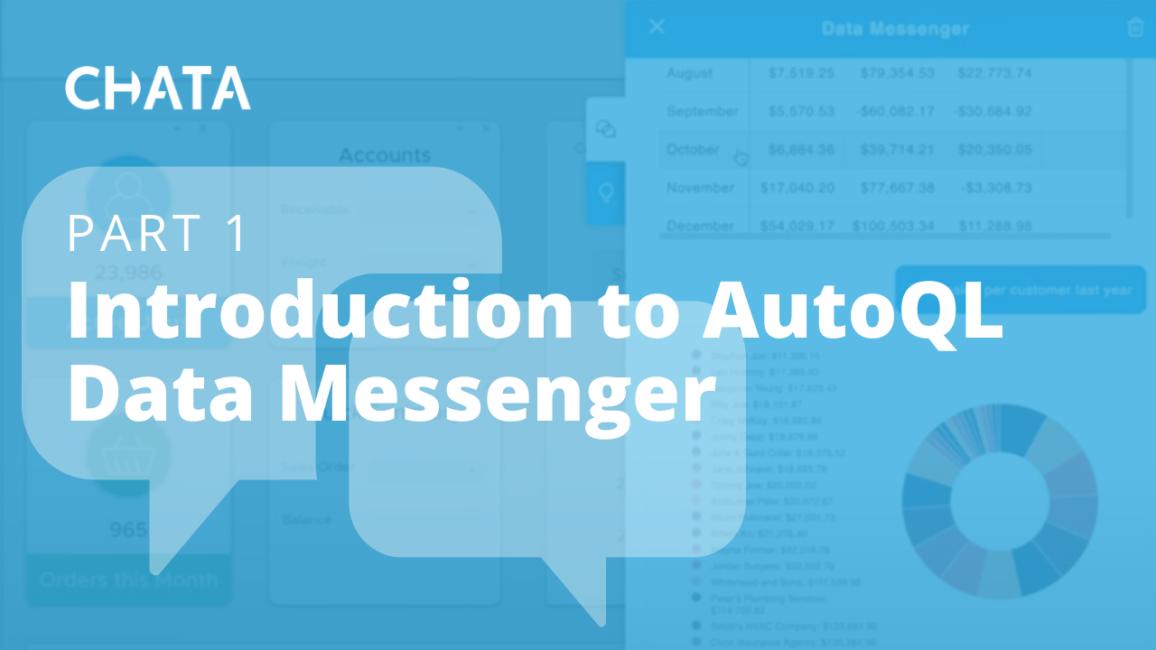 Conversational AI Resources: Introduction to AutoQL Data Messenger