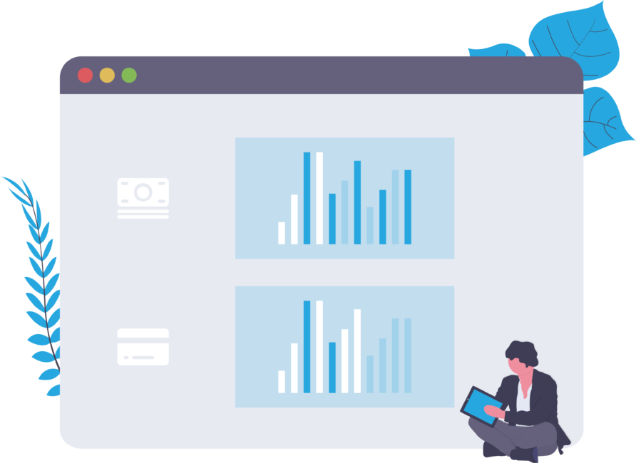 Individual tracking revenue on a Dashboard for Exploratory Analysis