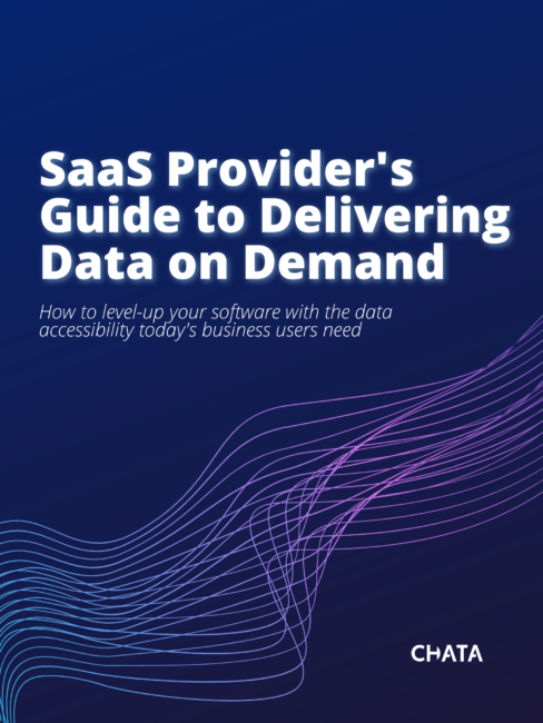 Cover SaaS Provider's Guide to Delivering Data on Demand
