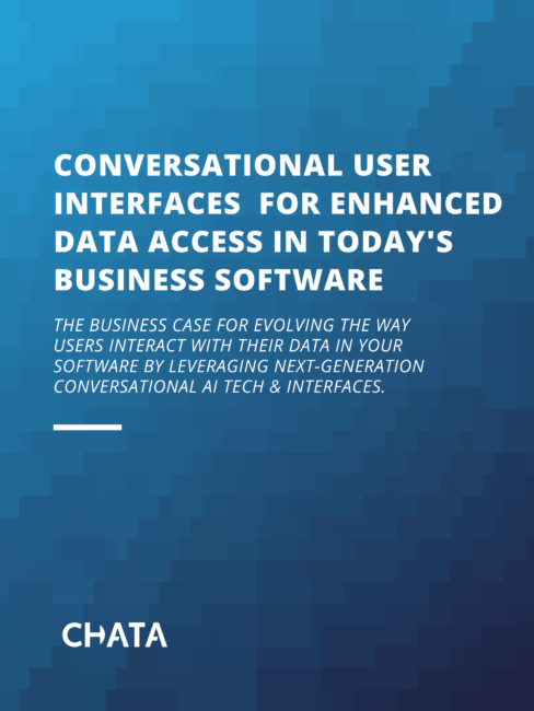 Conversational User Interfaces for Enhanced Data Access in Today's Business Software